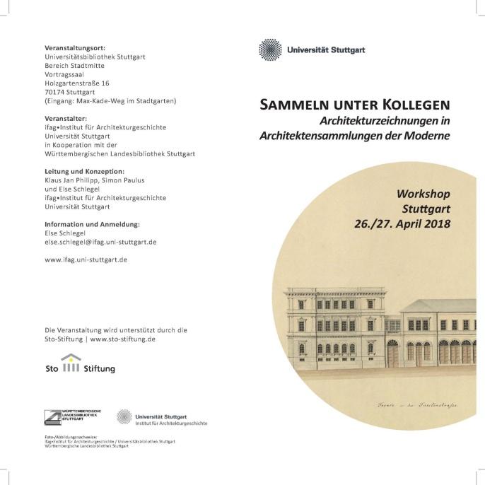 2018 Workshop Architekturzeichnungen